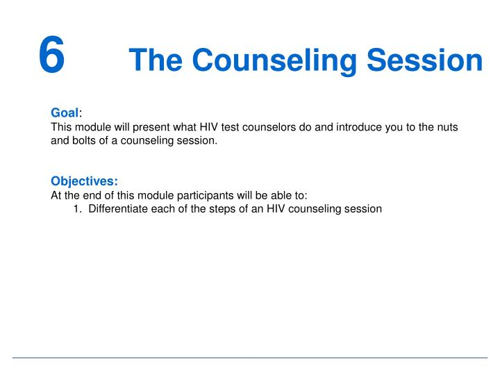 The Counseling Session
