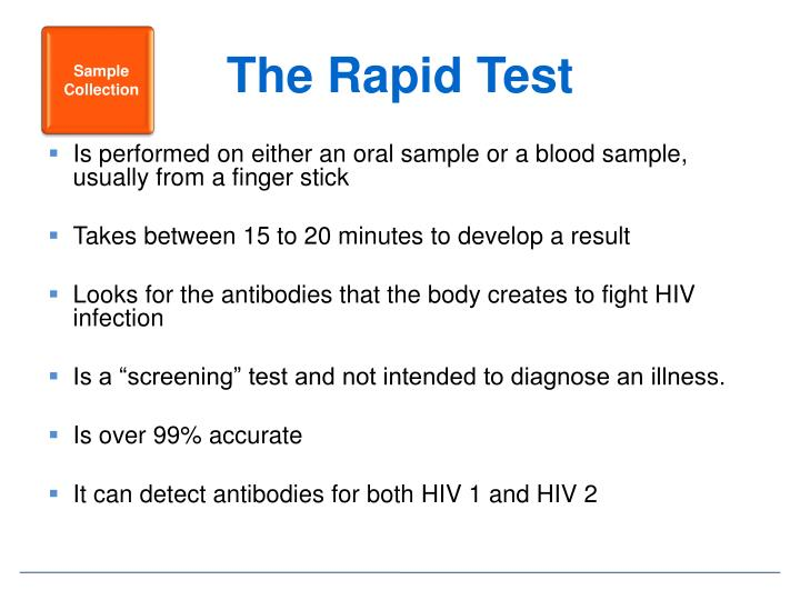 The Rapid Test