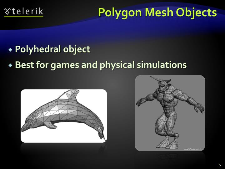 Polygon Mesh Objects