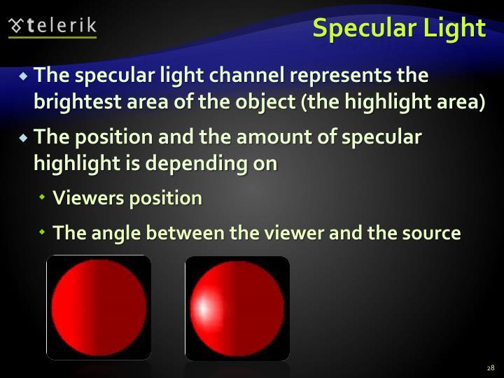 Specular Light
