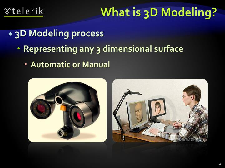 What is 3d modeling