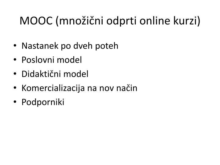 MOOC (množični odprti