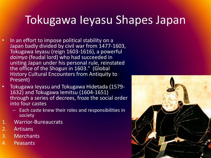 Tokugawa Ieyasu Shapes Japan