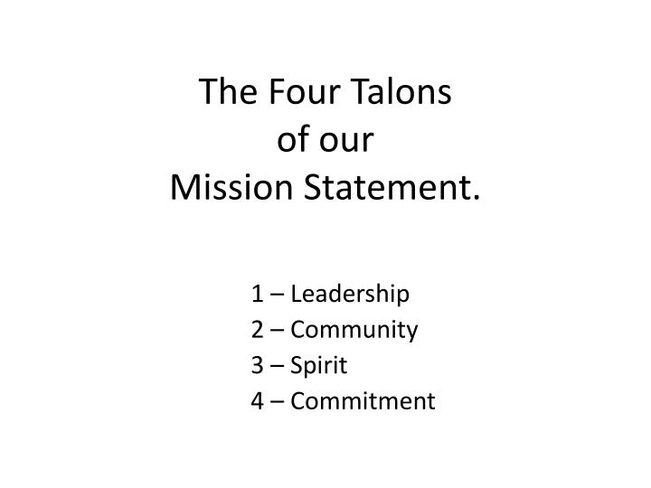 The Four Talons