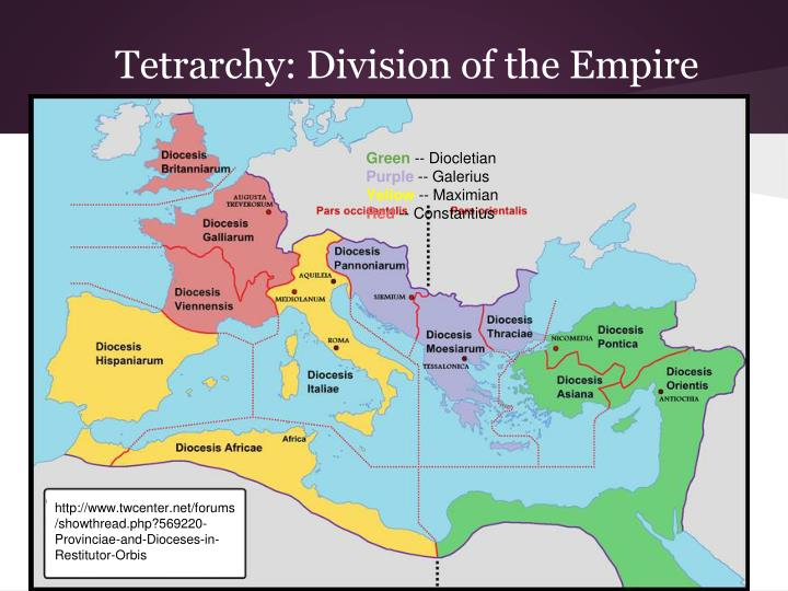 Tetrarchy: Division of the Empire