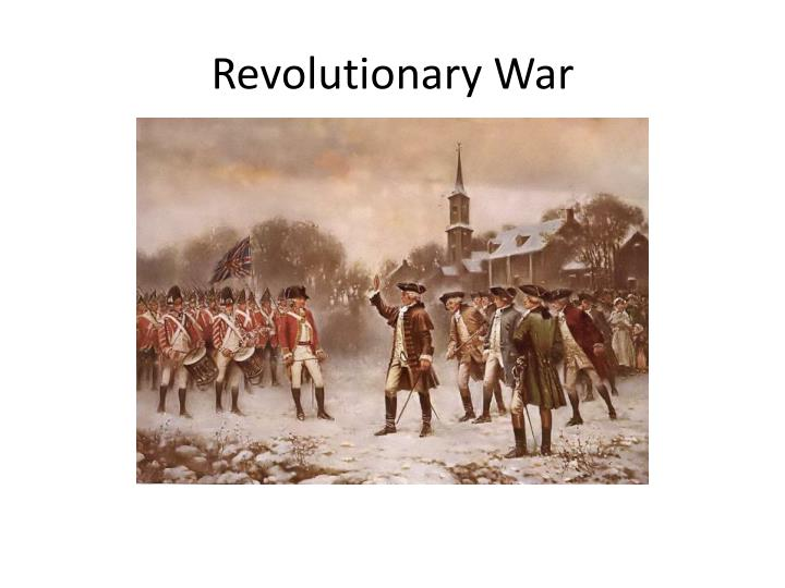 revolutionary wars essay A revolution is not a dinner party, or writing an essay, or painting a picture the revolutionary war is a war of the masses.