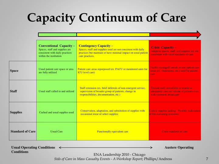 Capacity Continuum of Care