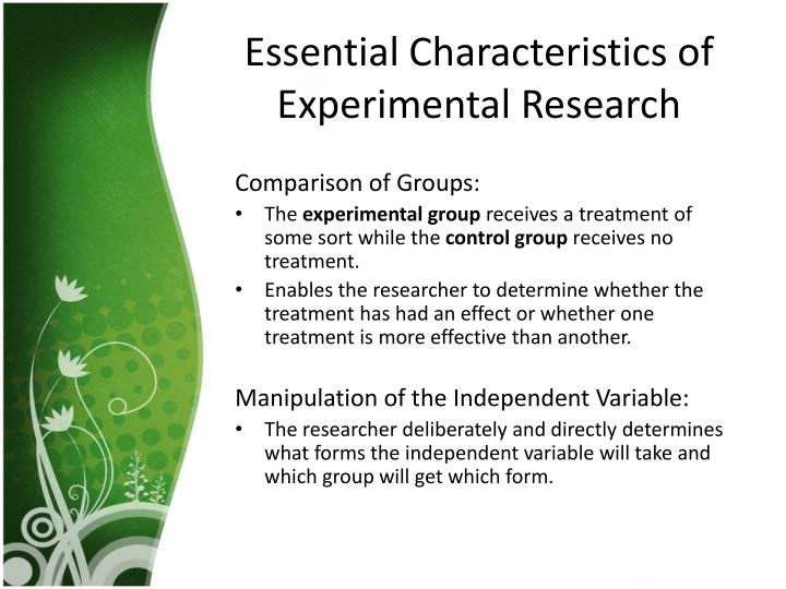 characteristics research paper In the current study, five characteristics of 545 oa citing sources targeting oa  research articles in four science and four social science disciplines were  manually.