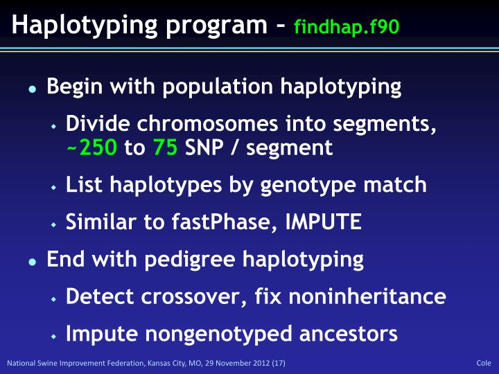 Haplotyping