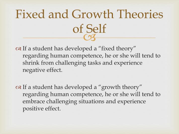Fixed and Growth Theories of Self