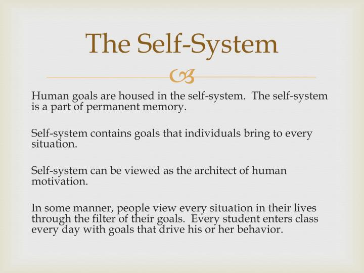 The Self-System