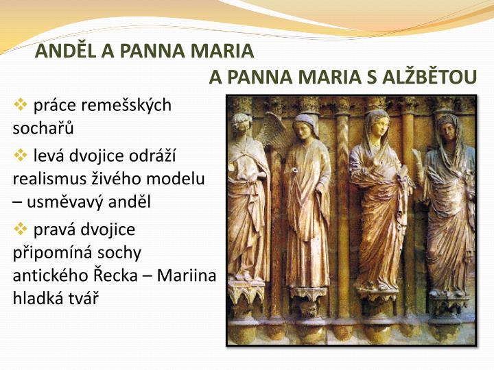 ANDĚL A PANNA MARIA