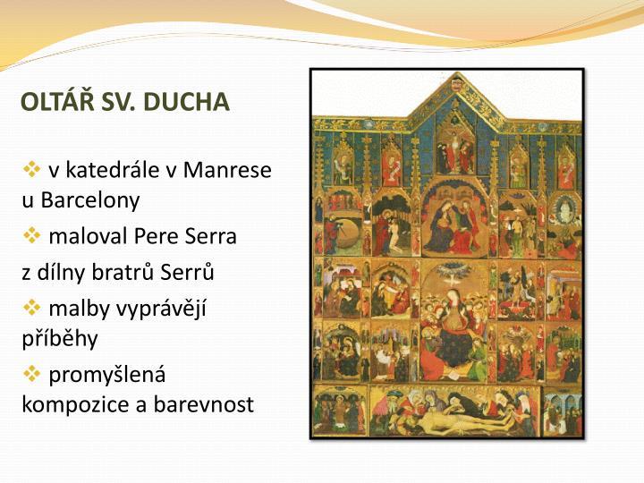 OLTÁŘ SV. DUCHA