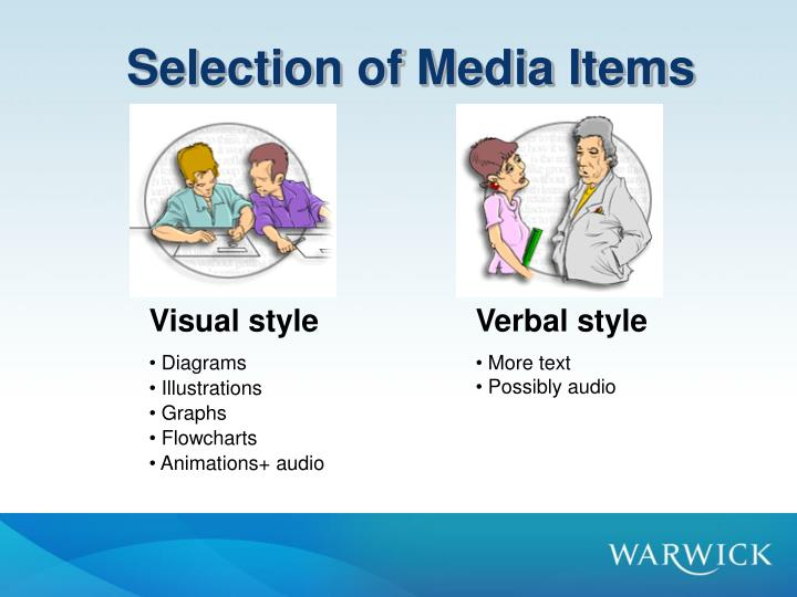 Selection of Media Items