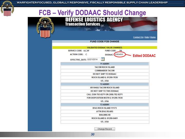 FCB – Verify
