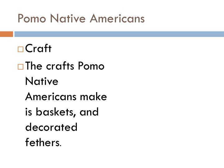 Pomo Native Americans