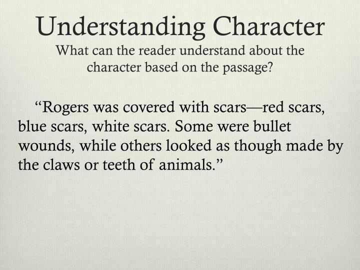 Understanding Character