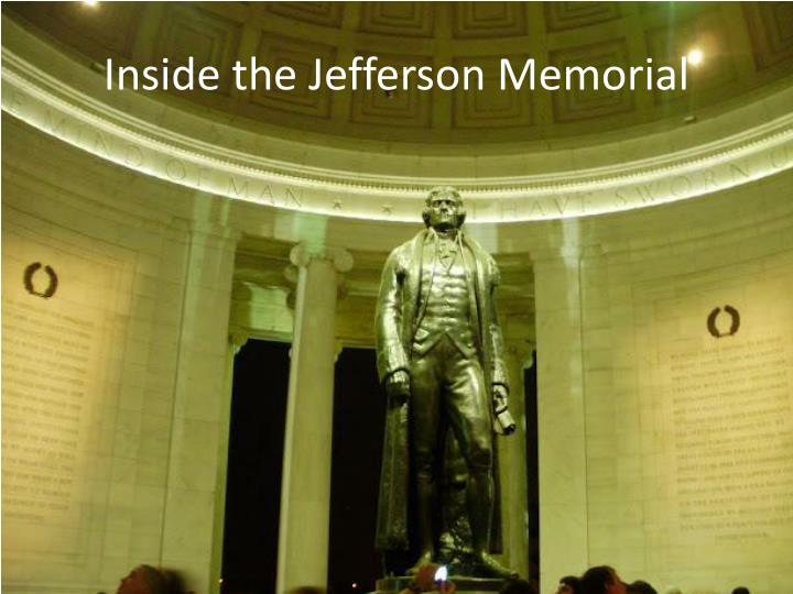 Inside the Jefferson Memorial