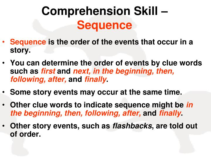 Comprehension Skill –