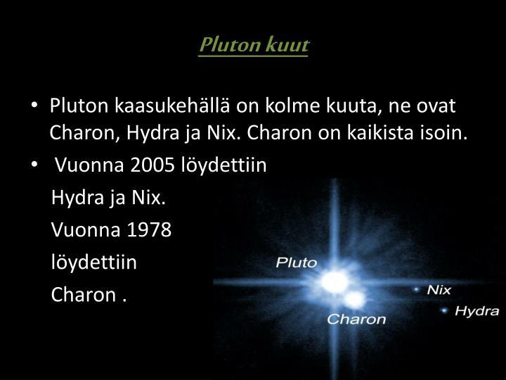 Pluton kuut
