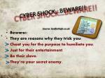 cyber shock beware3