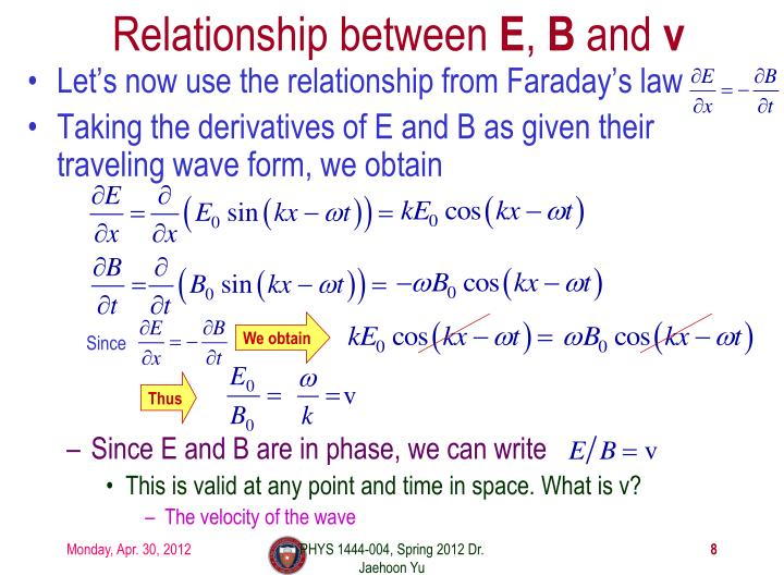 Relationship between