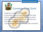 common core gold
