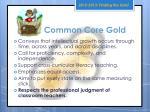 common core gold1
