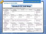 grade 8 cc unit map