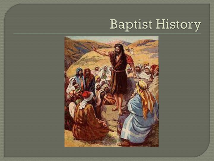 Baptist History