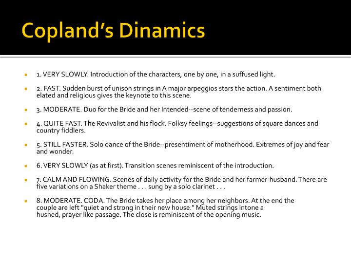 Copland's