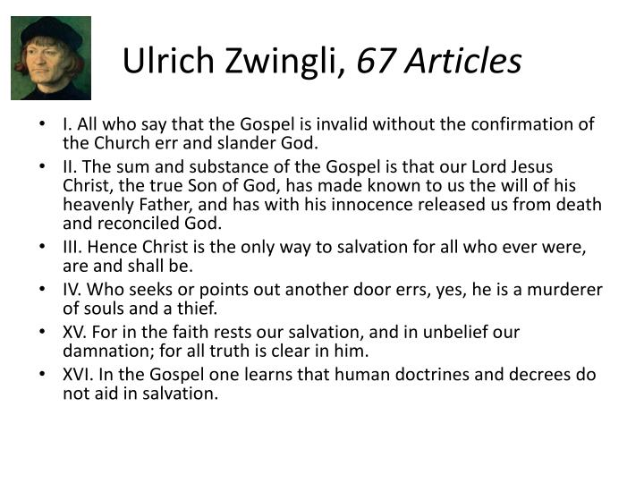 Ulrich Zwingli,