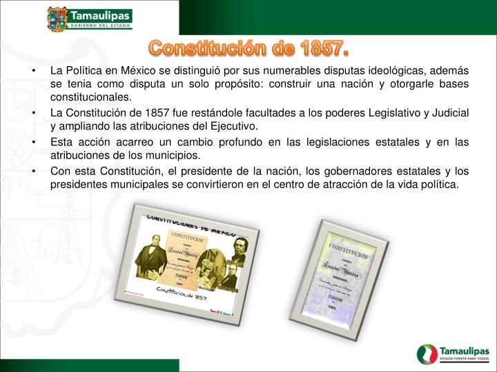 Constitución de 1857.
