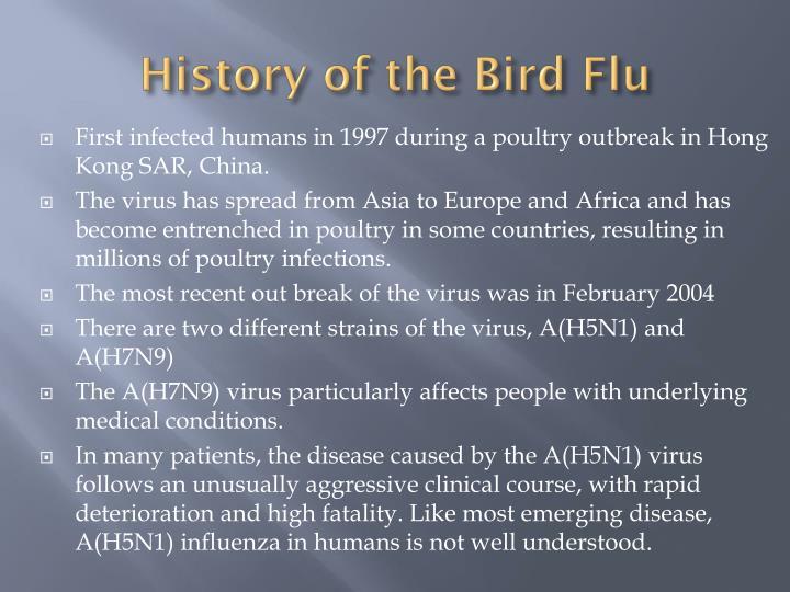 History of the Bird Flu