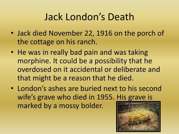Jack London's Death