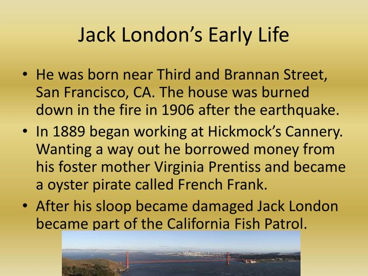 Jack London's Early Life