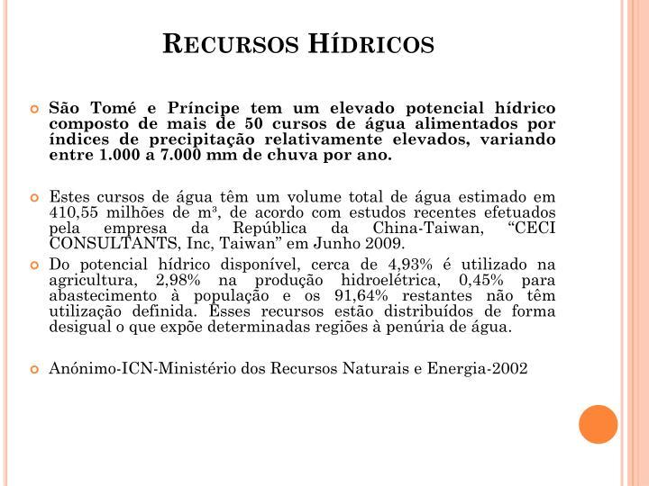 Recursos Hdricos