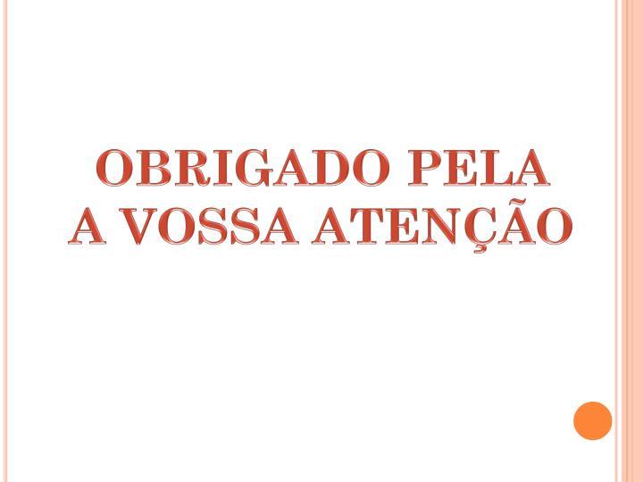 OBRIGADO PELA