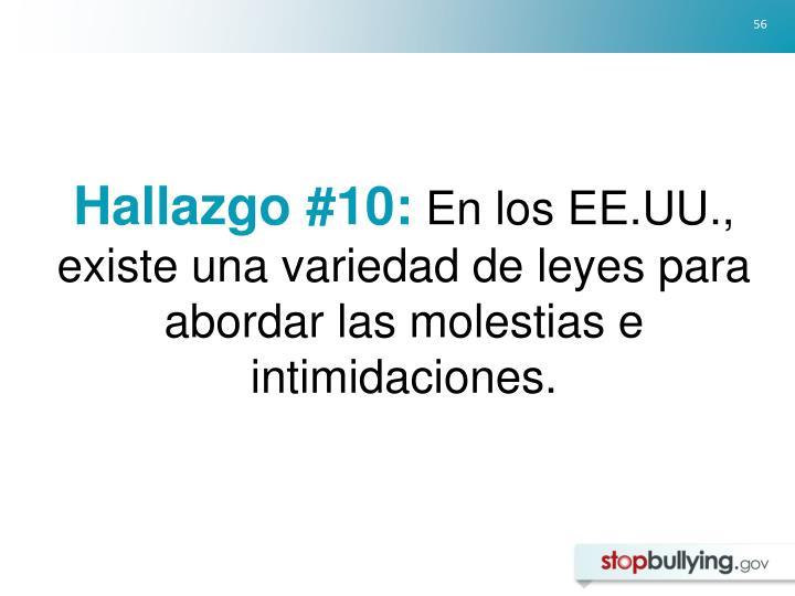 Hallazgo #10: