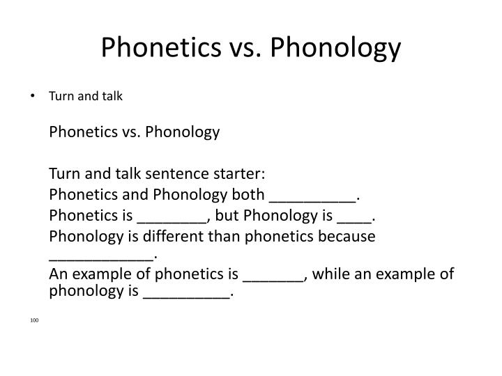 phonetics vs phonology Learn phonology 1 linguistics with free interactive flashcards choose from 500 different sets of phonology 1 linguistics flashcards on quizlet  phonetics vs.