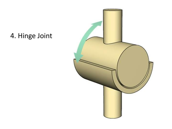 4. Hinge Joint