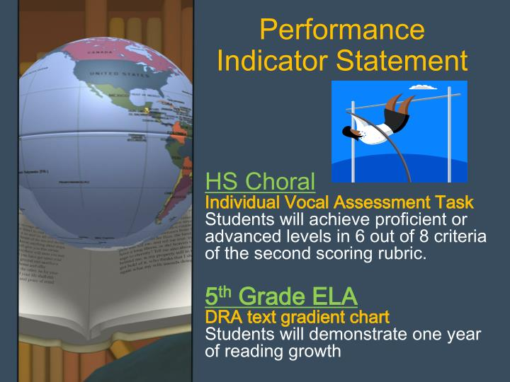 Performance Indicator Statement
