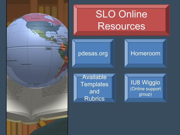 SLO Online Resources