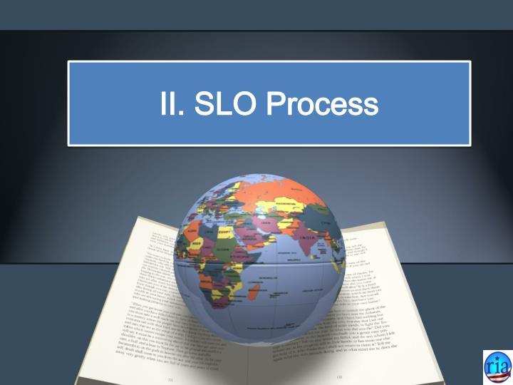 II. SLO Process