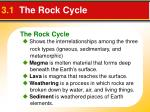 3 1 the rock cycle2