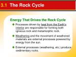 3 1 the rock cycle3