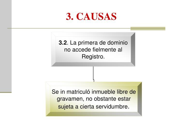 3. CAUSAS