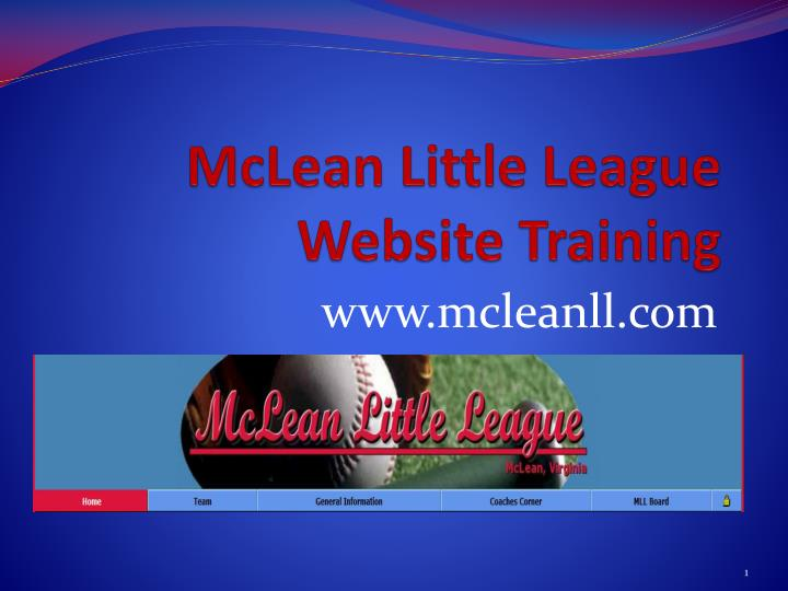 McLean Little League