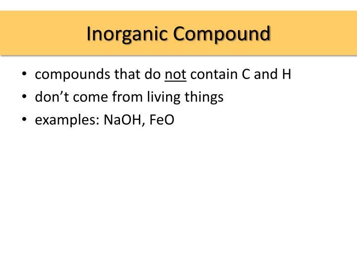Inorganic Compound