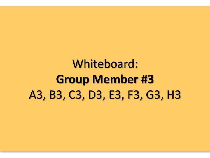 Whiteboard: